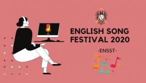 ENGLISH SONG FESTIVAL 2020