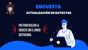 ACTUALIZACIÓN DE DATOS PAE