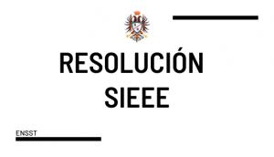 RESOLUCIÓN SIEEE